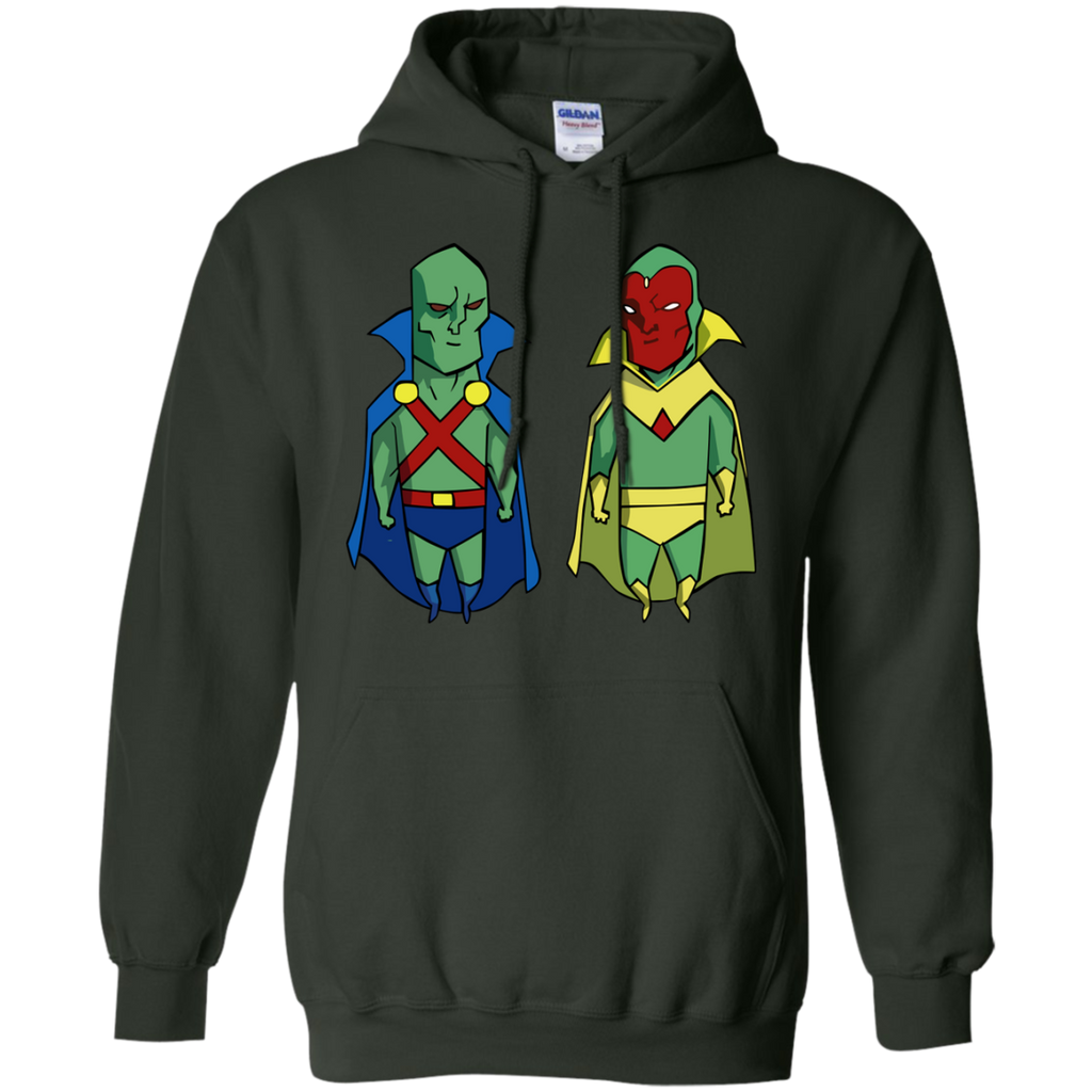 Marvel - Vision VS Martian Hunter marvel and dc T Shirt & Hoodie
