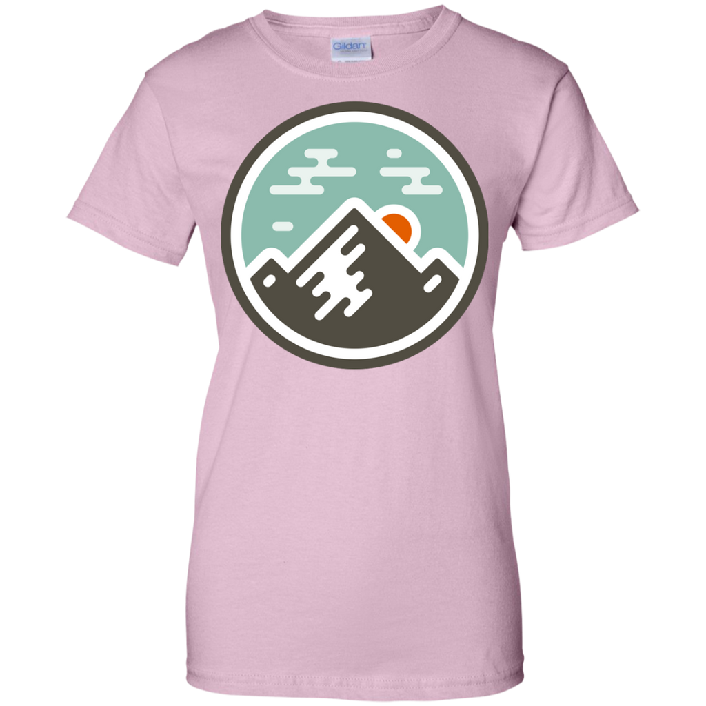 Camping - Mountain Badge mountain T Shirt & Hoodie