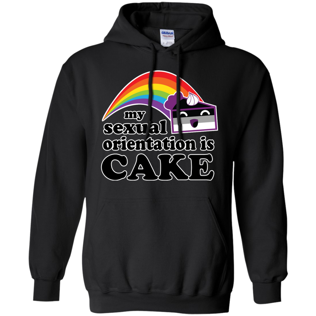 LGBT - My Sexual Orientation Is Cake Asexual Pride lgbt T Shirt & Hoodie