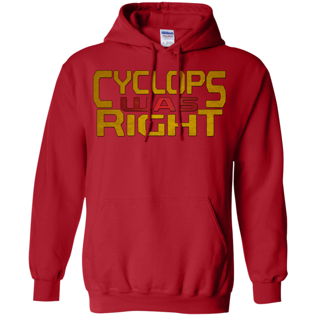 Marvel - Cyclops Was Right x men T Shirt & Hoodie