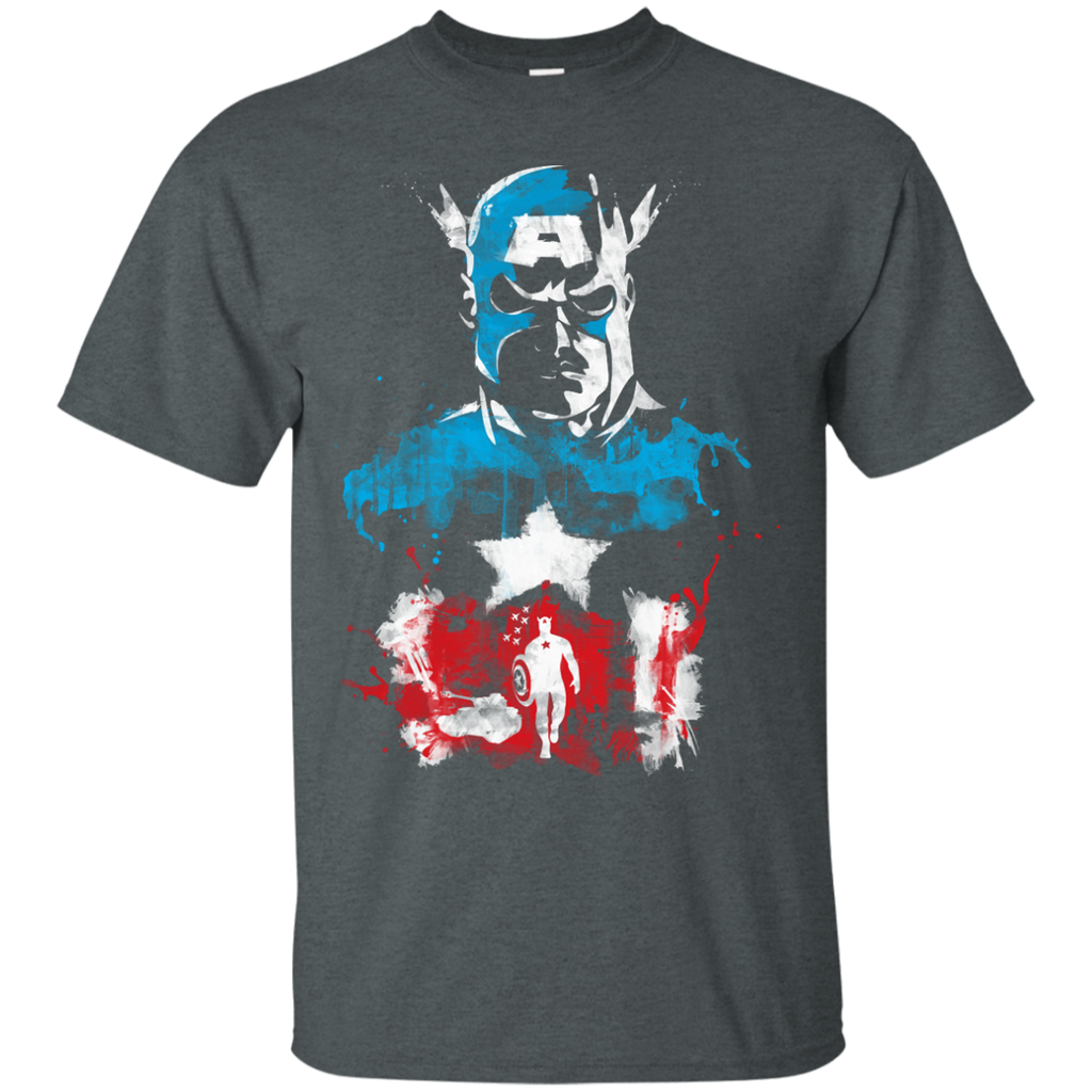 Marvel - AMERICAS SUPER SOLDIER flag T Shirt & Hoodie