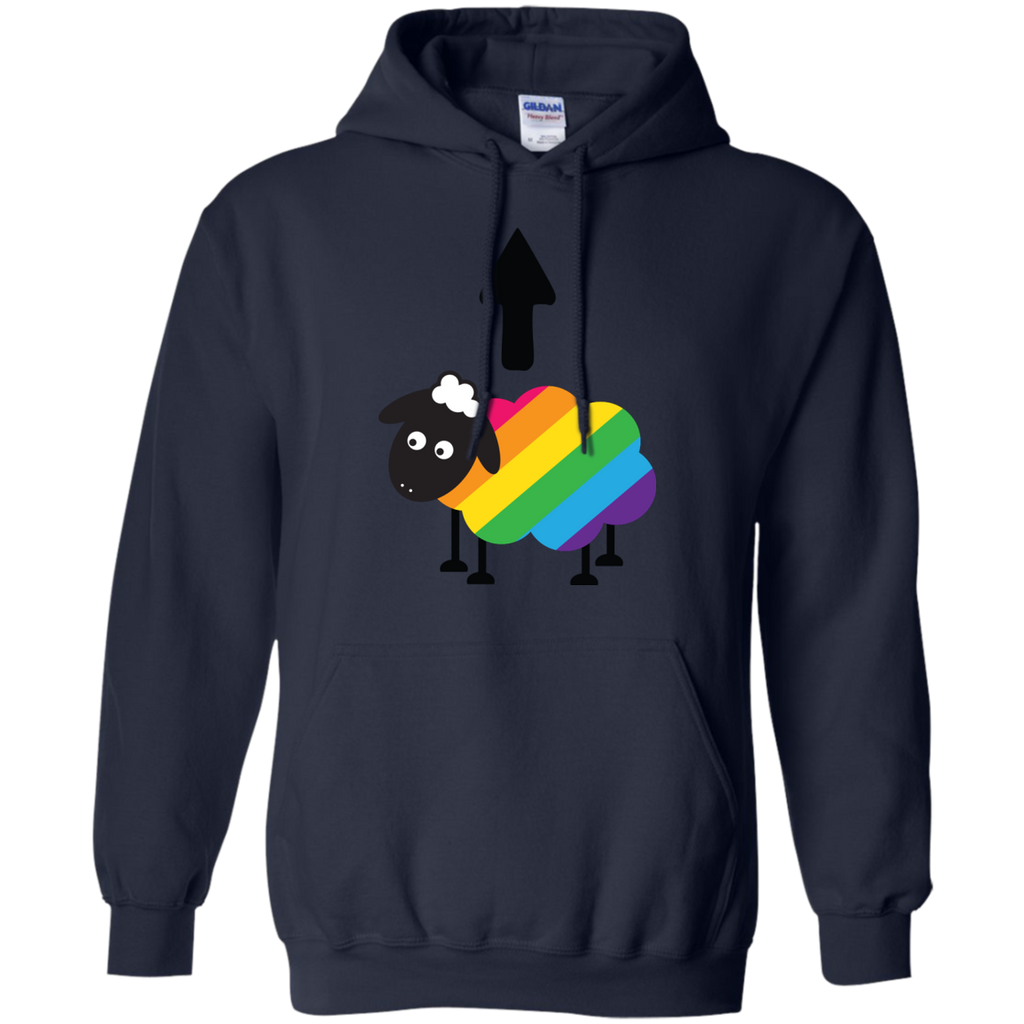 LGBT - Gay Lesbian LGBT Rainbow Pride Sheep Of The Family lgbt T Shirt & Hoodie
