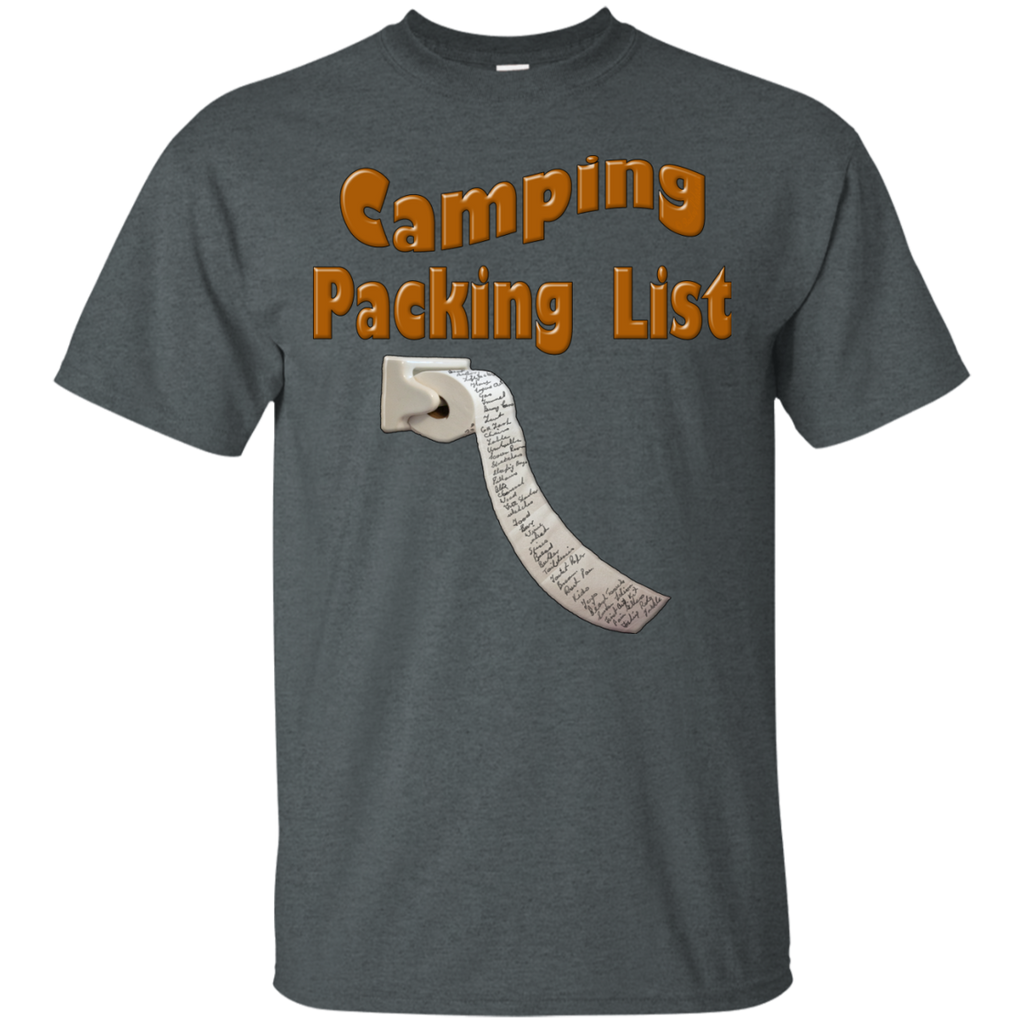 Camping - Camping Packing List toilet paper T Shirt & Hoodie