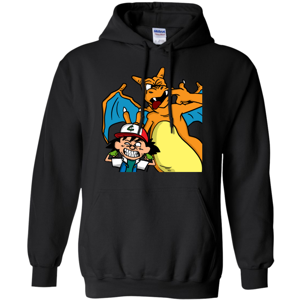 Marvel - Ash and Charizard charizard T Shirt & Hoodie
