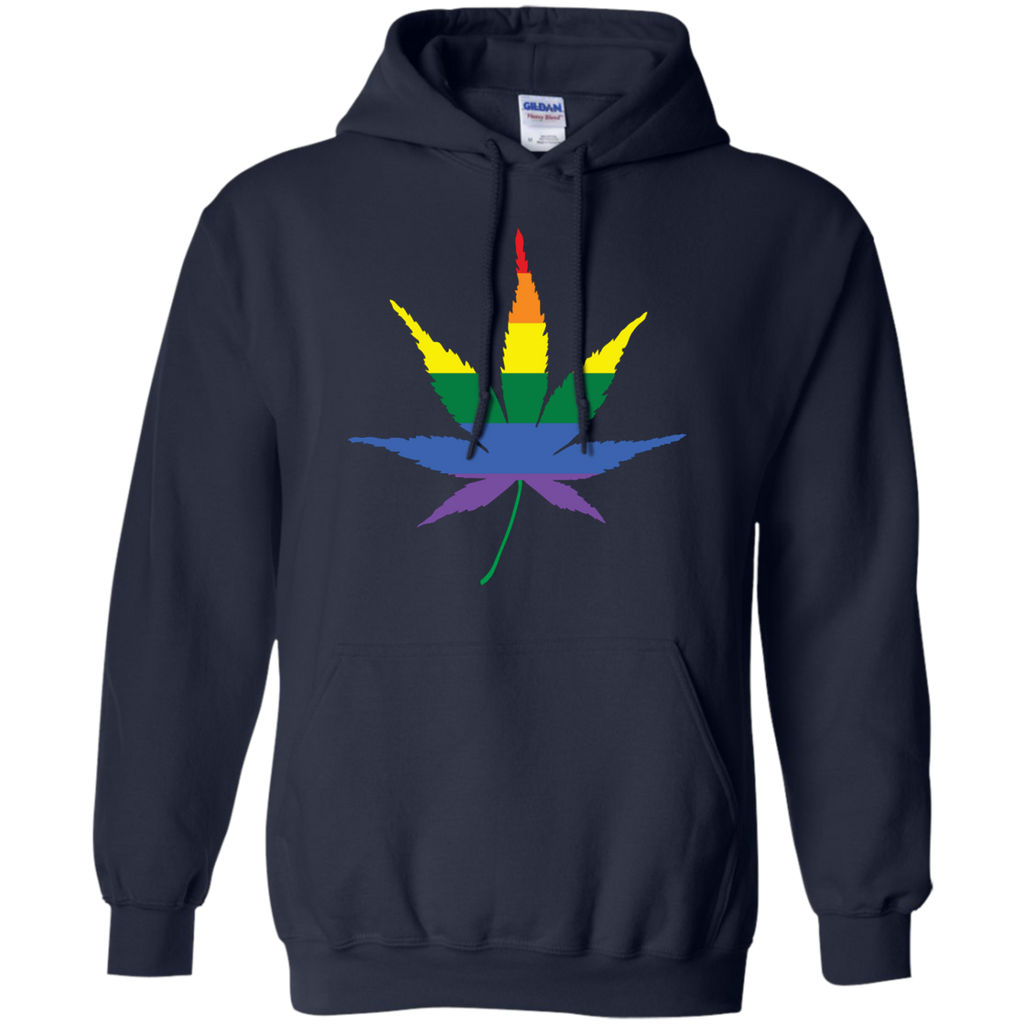 LGBT - Gay Weed is the Best Weed marijuana leaves T Shirt & Hoodie