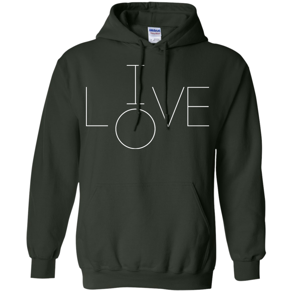 LGBT - Live Love female T Shirt & Hoodie