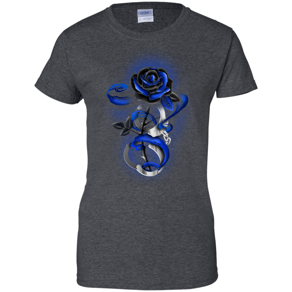 Yoga - ROSE TATTOO POLICE THIN BLUE LINE T shirt & Hoodie