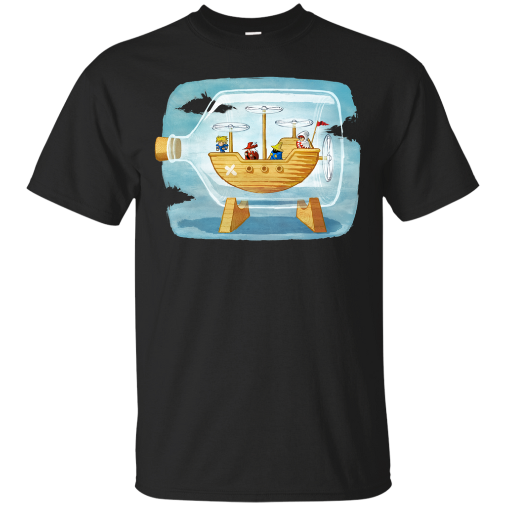 Final Fantasy - Airship in a Bottle ship in a bottle T Shirt & Hoodie