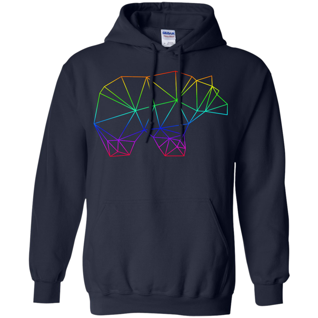 LGBT - Beautiful Blue Bear Design bears T Shirt & Hoodie