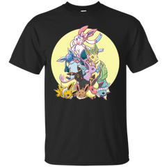 Pokemon - 9 Power eevee sylveon eeveelution T Shirt & Hoodie