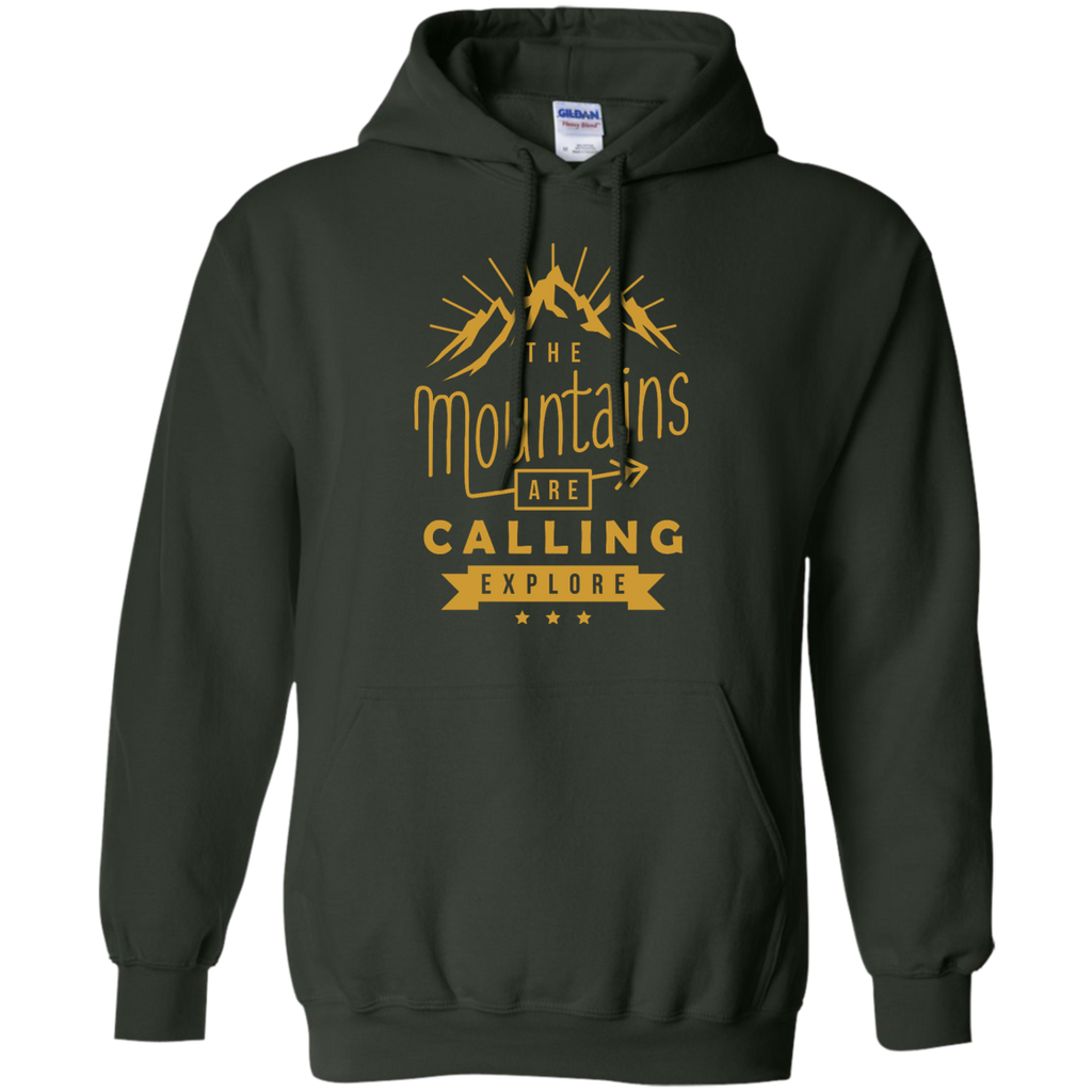 Hiking - The Mountains Are Calling hike T Shirt & Hoodie