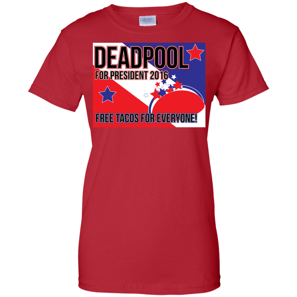 Marvel - Deadpool For President 2016 the merc with a mouth T Shirt & Hoodie