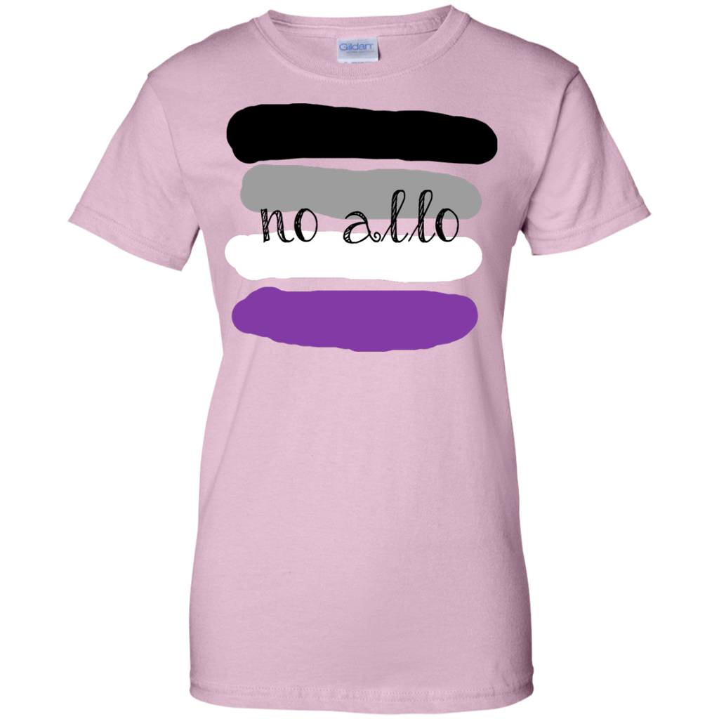 LGBT - No Allo asexual T Shirt & Hoodie