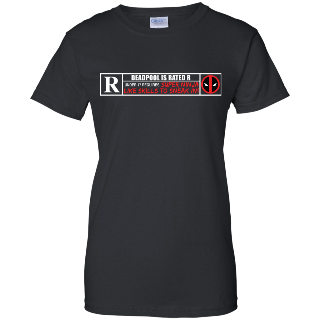 Marvel - Deadpool is Rated R guardians of the galaxy T Shirt & Hoodie