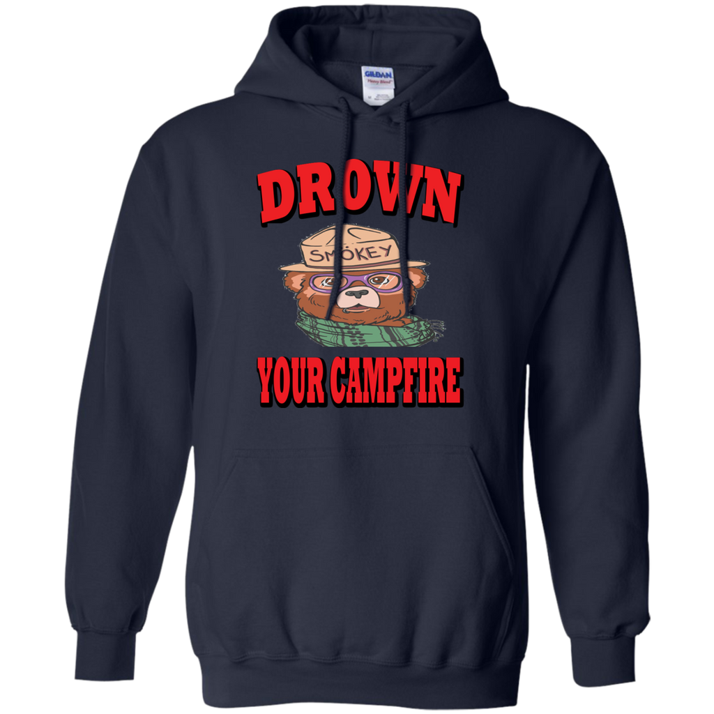 Hiking - Smokey Says Drown your camfire smokey T Shirt & Hoodie