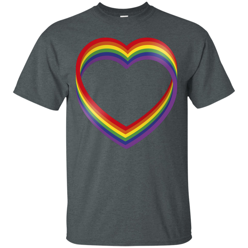 LGBT - heart full of pride lesbian T Shirt & Hoodie