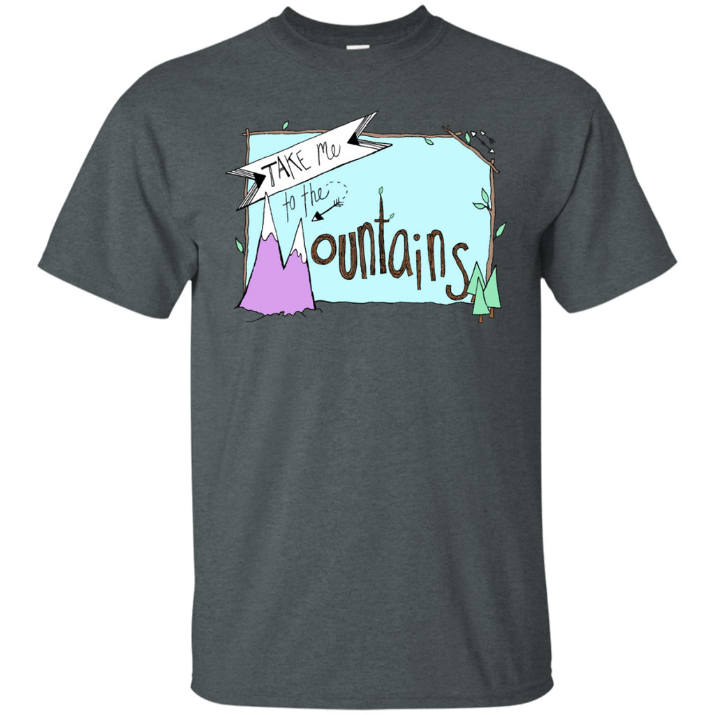 Camping - Take Me To The Mountains mountains T Shirt & Hoodie