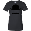 LGBT - Handlebars and Hat extra large T Shirt & Hoodie