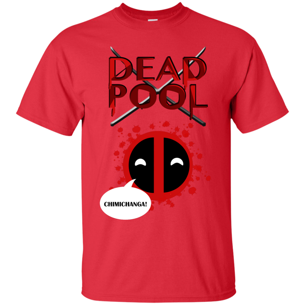 Marvel - Deadpool Chimichanga Tee red T Shirt & Hoodie