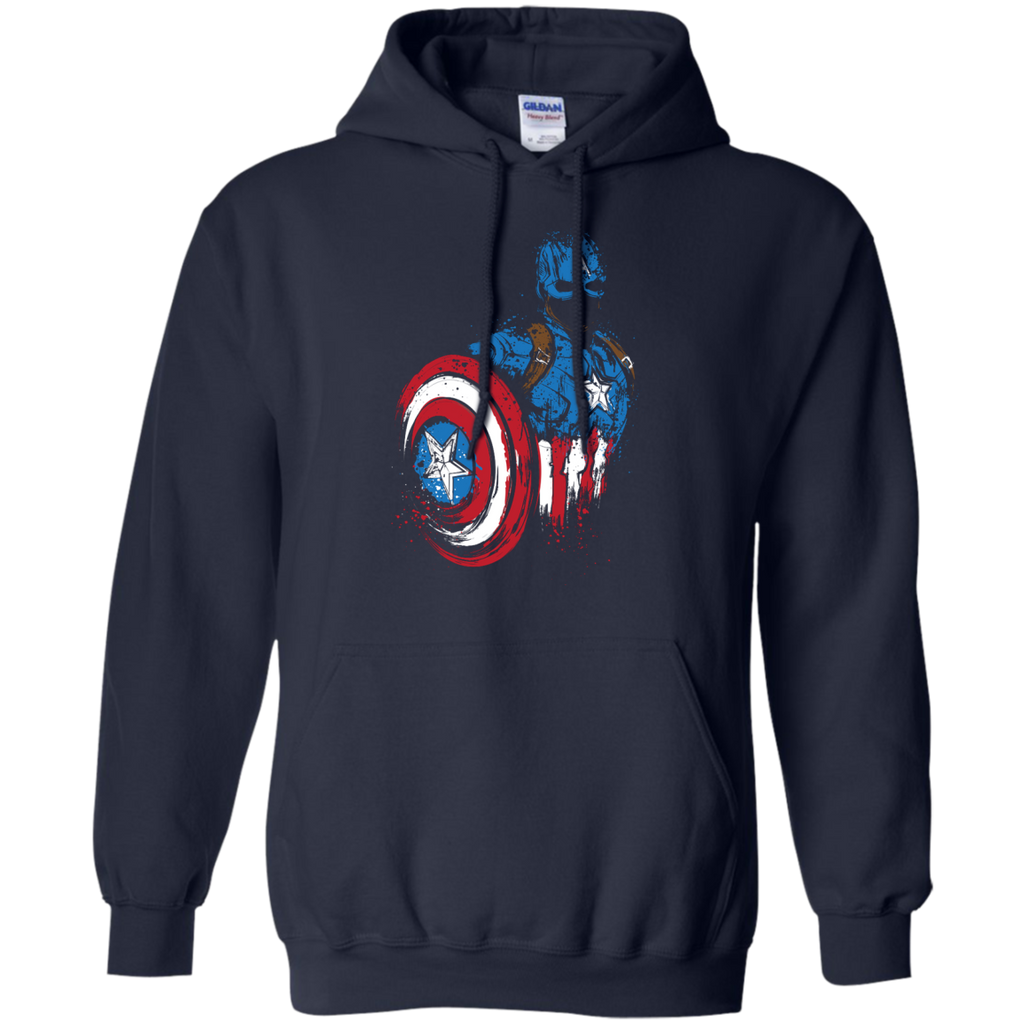 Marvel - American Warrior captain america T Shirt & Hoodie