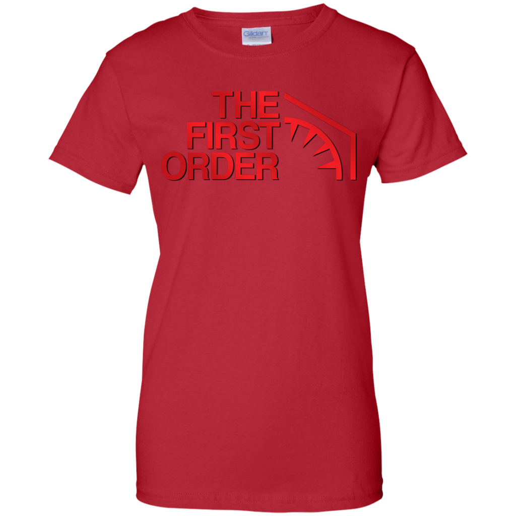 Hiking - The First Order  Red star wars the force awakens T Shirt & Hoodie