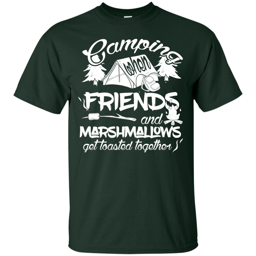 Camping - Camping Friends and Marshmallows Funny Camp camping t shirt T Shirt & Hoodie