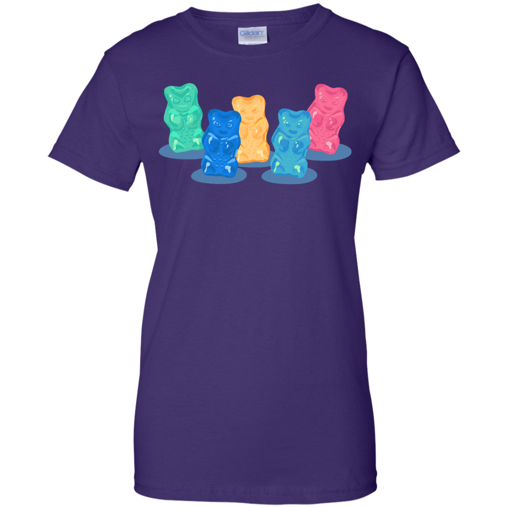 LGBT - Pastel Gummy Bears Gang mint T Shirt & Hoodie