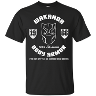 Marvel - Wakanda Body Armor black panther T Shirt & Hoodie
