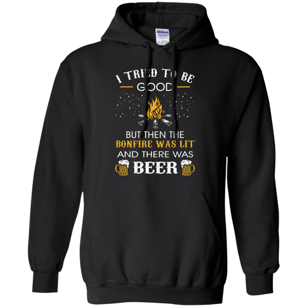 Camping - I Tried Be Good But Then Bonfire Lit Beer Camping TShirt i tried be good but then bonfire lit beer camping t shirt T Shirt & Hoodie