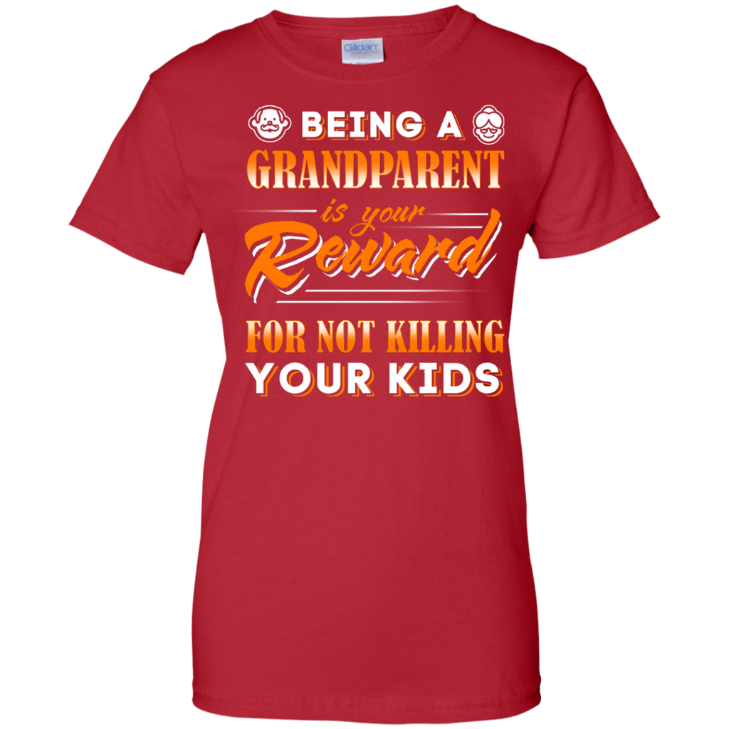 Yoga - BEING A GRANDPARENT IS YOUR REWARD T shirt & Hoodie