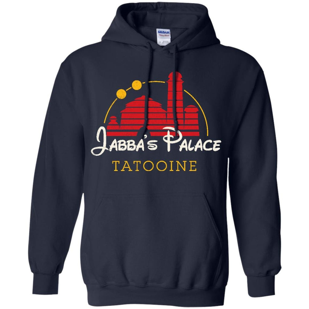 STAR WARS - Jabbas Palace Red T Shirt & Hoodie