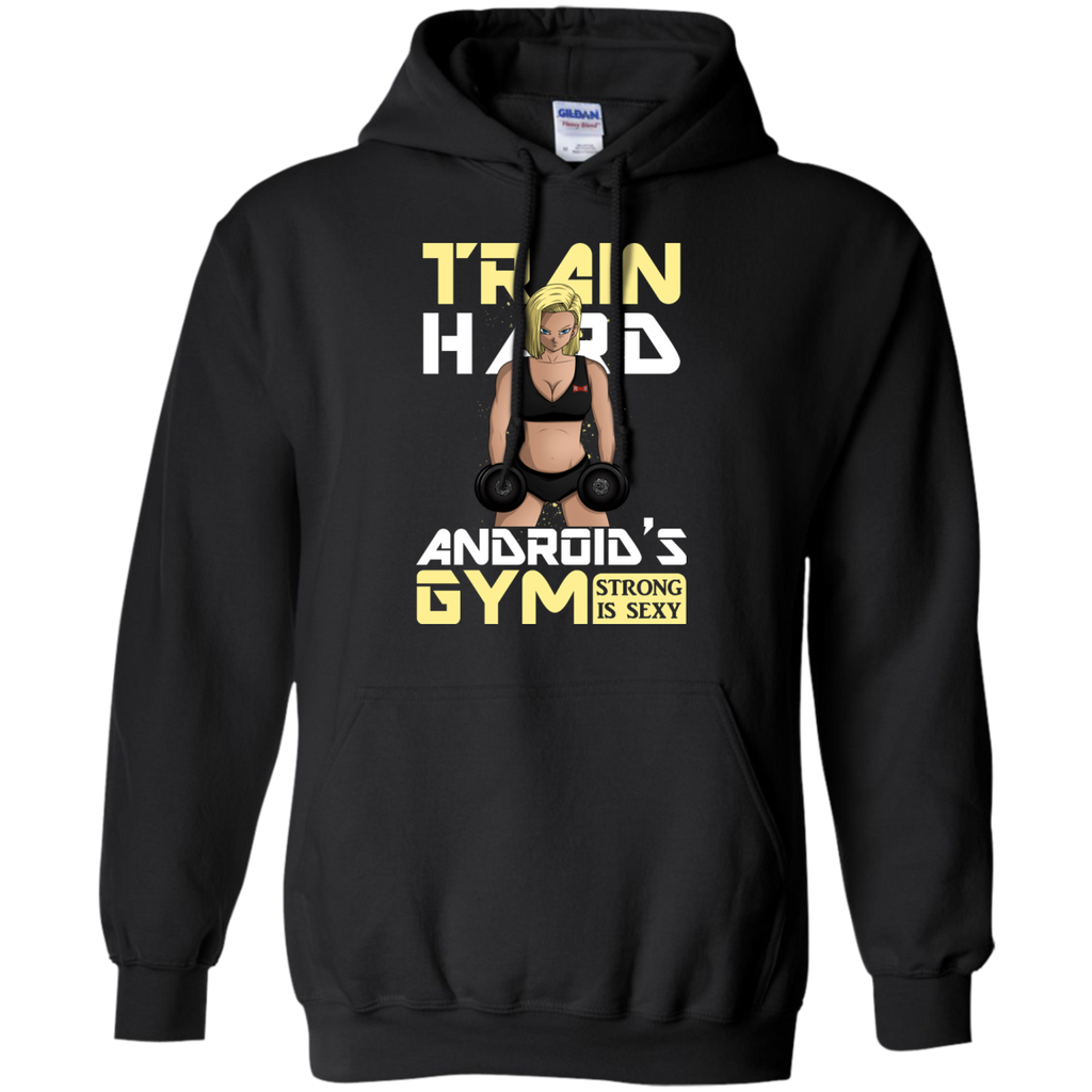 Dragon Ball - ANDROIDS GYM gym T Shirt & Hoodie