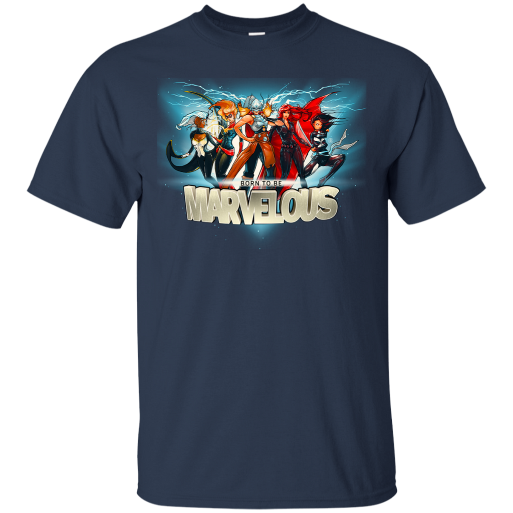 Marvel - Born to be Marvelous girl power T Shirt & Hoodie