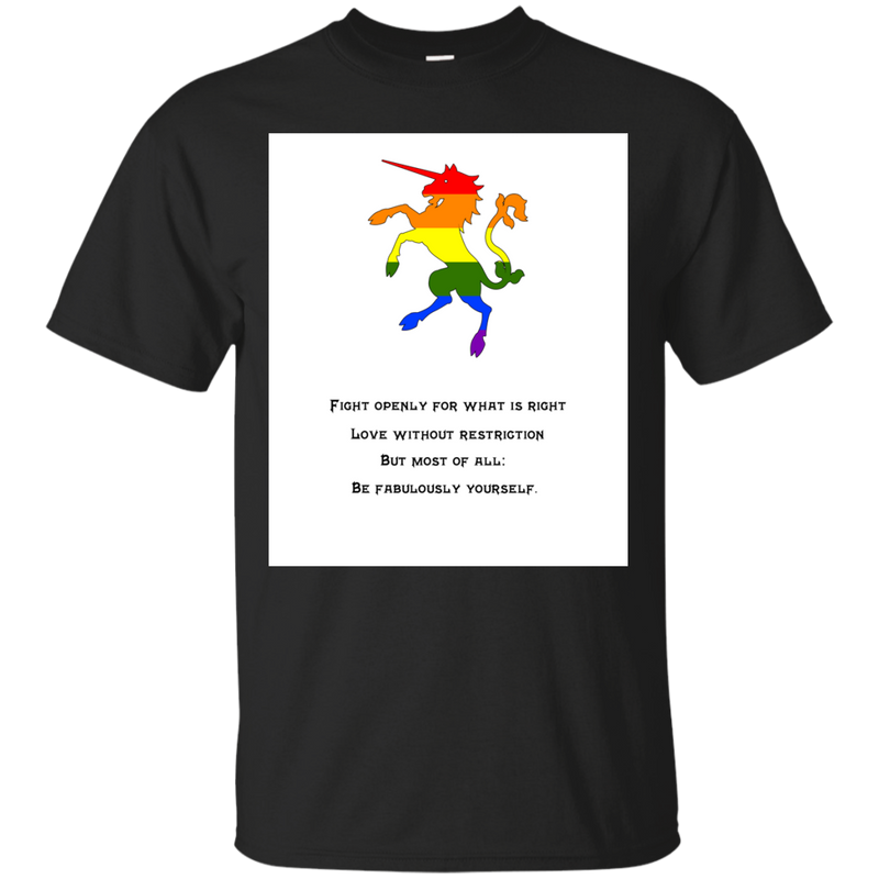 LGBT - Fight Openly fabulous T Shirt & Hoodie
