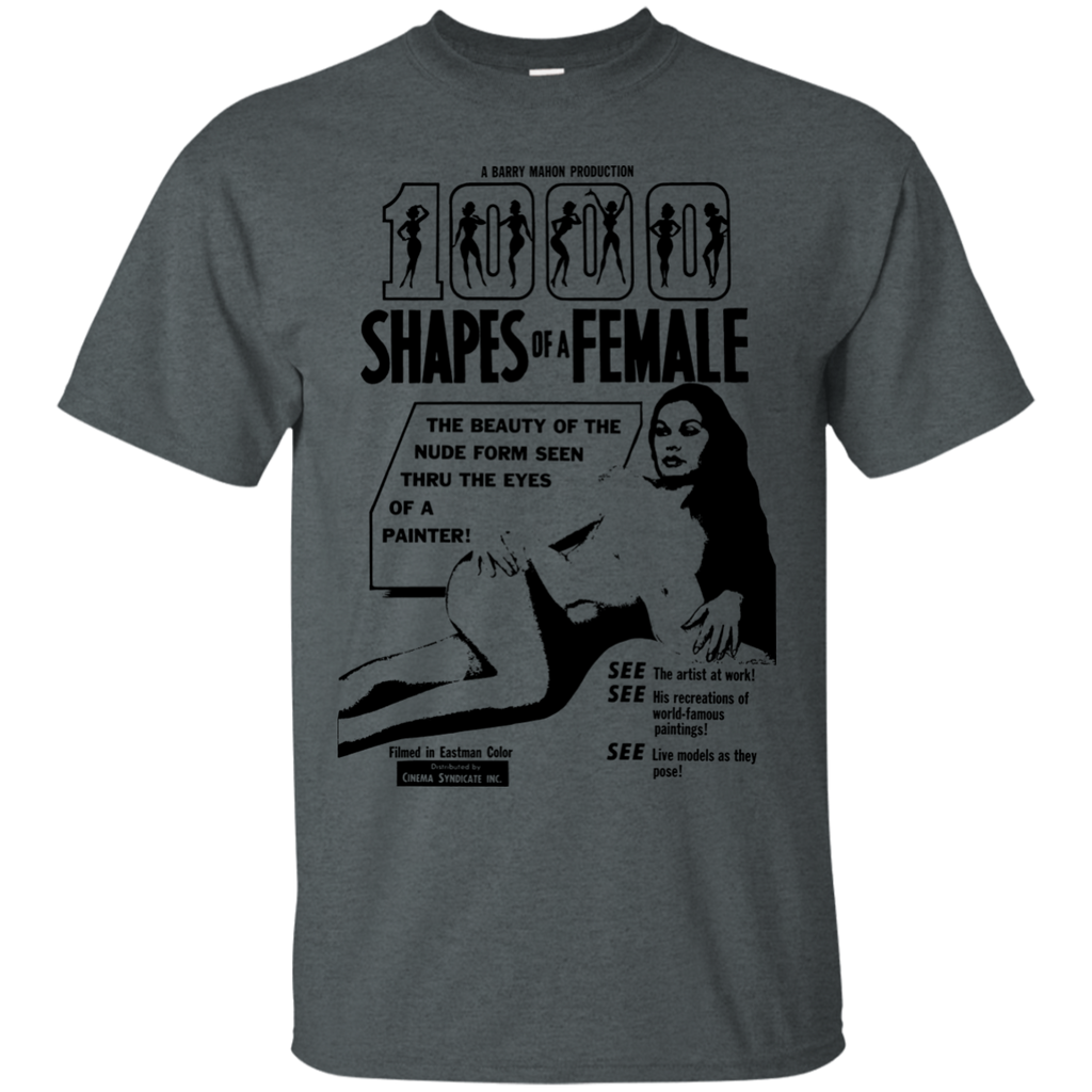 1000 SHAPES OF A FEMALE - 1000 Shapes of a Female black T Shirt & Hoodie