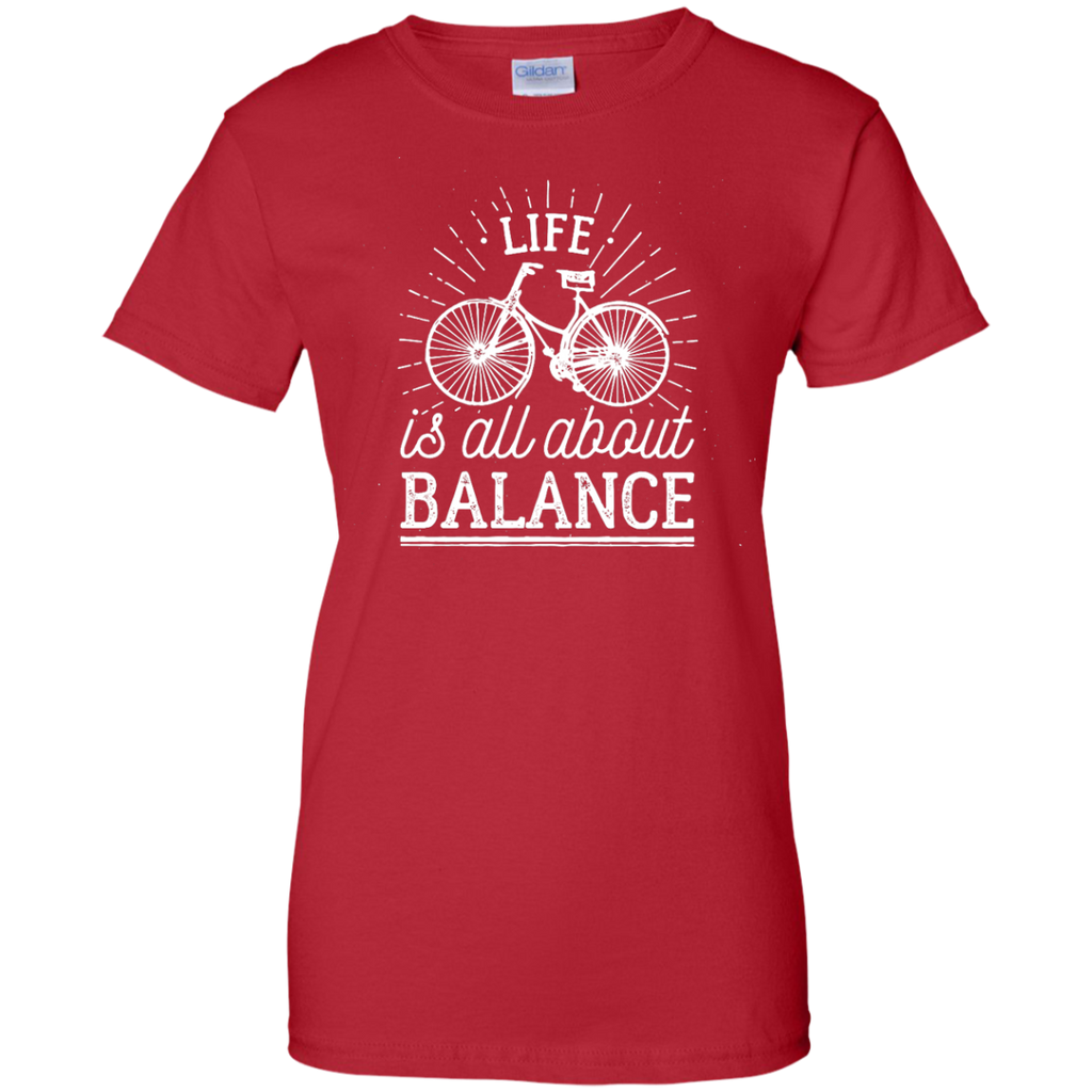 Camping - Life is all about balance life T Shirt & Hoodie