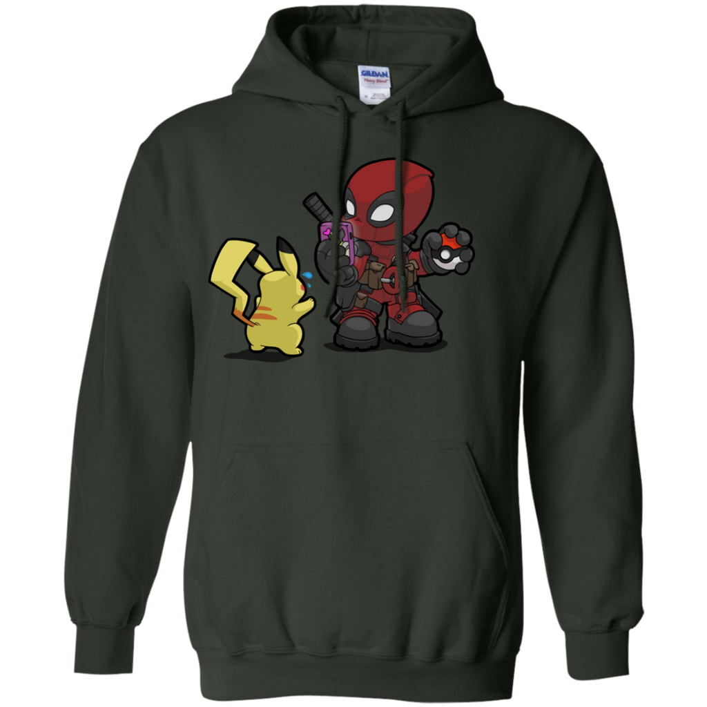 Marvel - Deadpool Its GO time  T Shirt & Hoodie