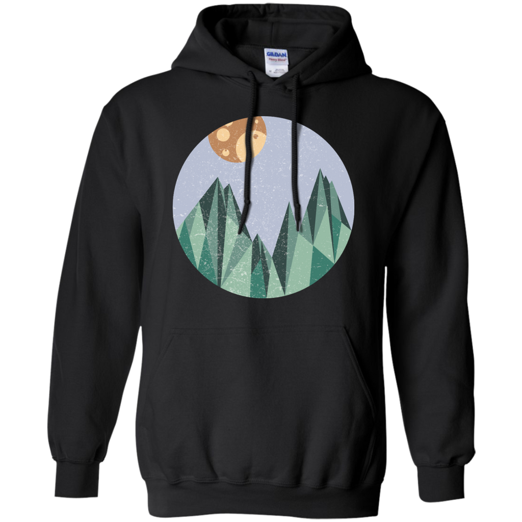 Camping - Abstract mountain mountain T Shirt & Hoodie