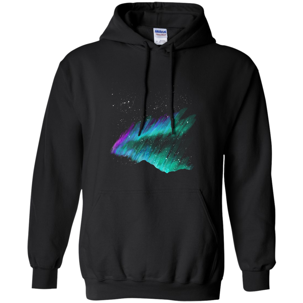 Hiking - Norhern Lights the great outdoors T Shirt & Hoodie
