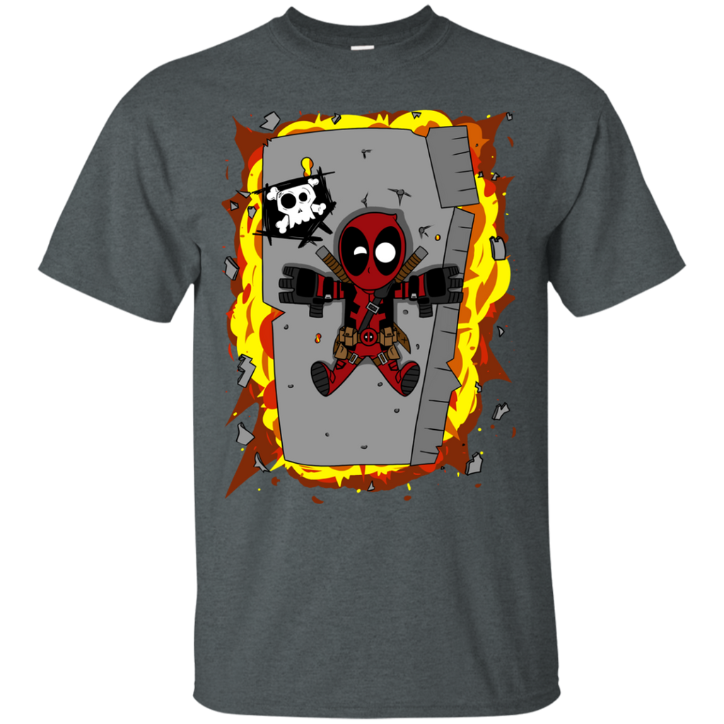 Marvel - Deadpool Exploding Flying Debris anti hero T Shirt & Hoodie