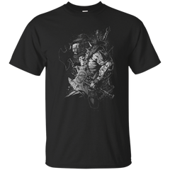 Diablo III - Barbarian  First Attack T Shirt & Hoodie