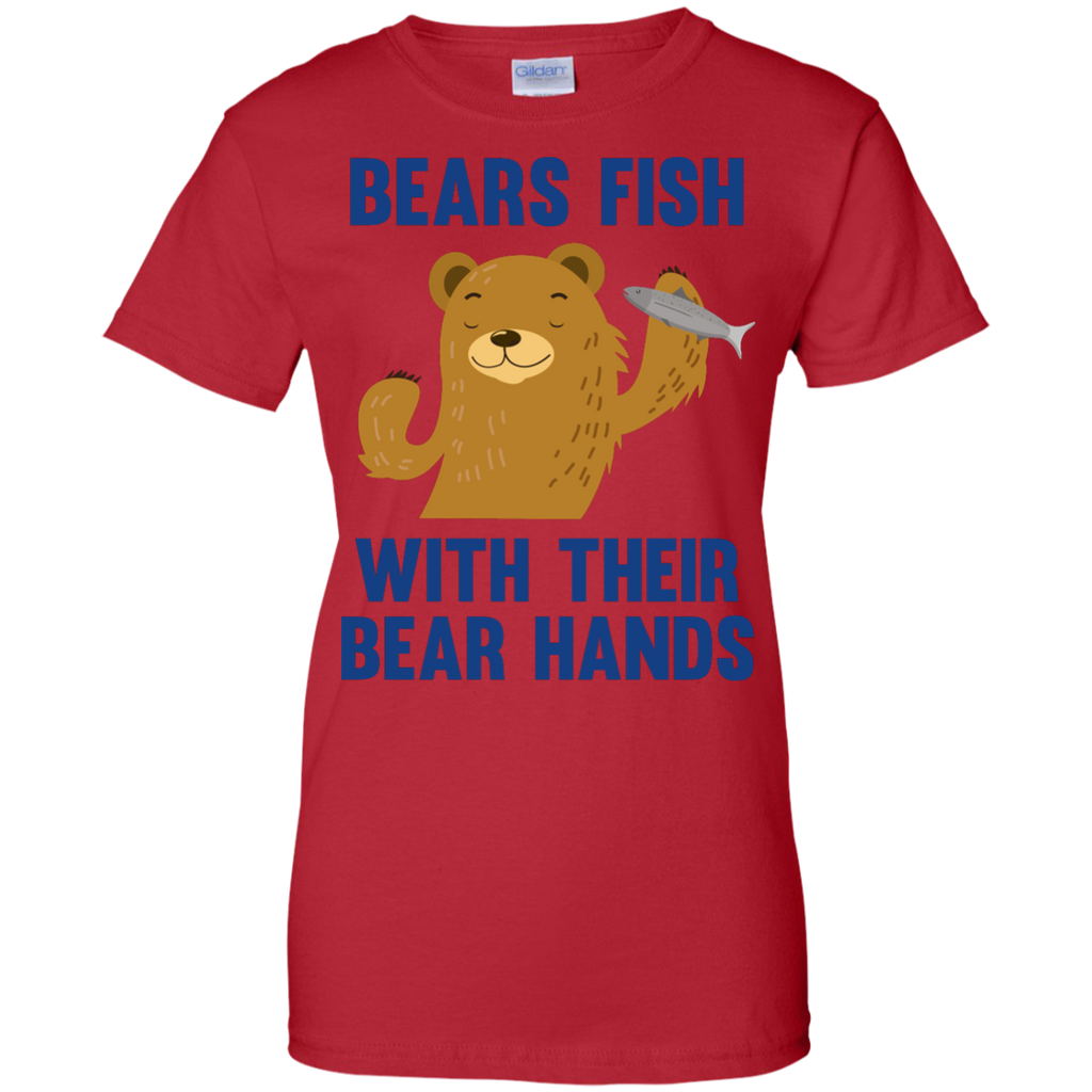 Camping - Bears Fish With Their Bear Hands funny T Shirt & Hoodie