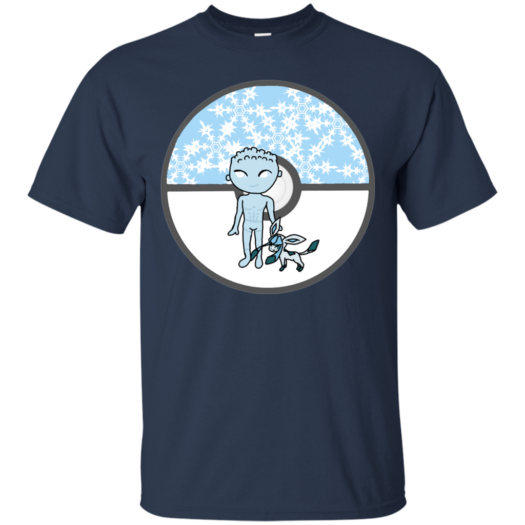 Marvel - XMon  Iceman and Glaceon pokeball T Shirt & Hoodie