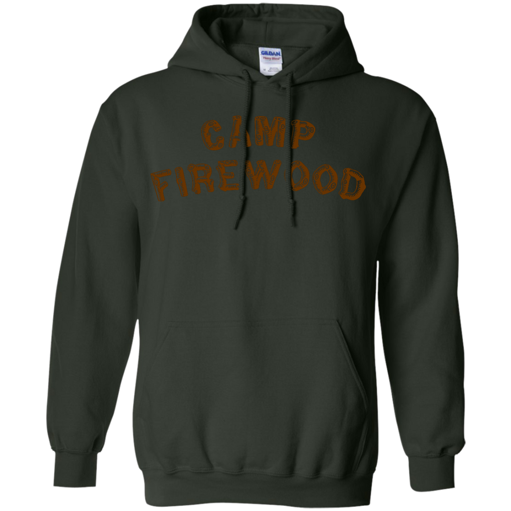 Camping - Camp Firewood wood T Shirt & Hoodie