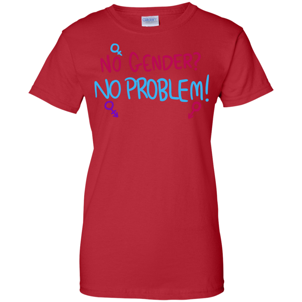 LGBT - No Gender No Problem gender T Shirt & Hoodie