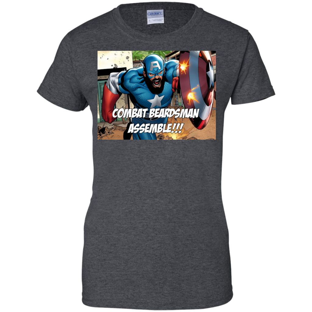 Marvel - CapBeard beards T Shirt & Hoodie