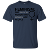 LGBT - Feminism The Radical Notion That Women Are People lgbtqia T Shirt & Hoodie