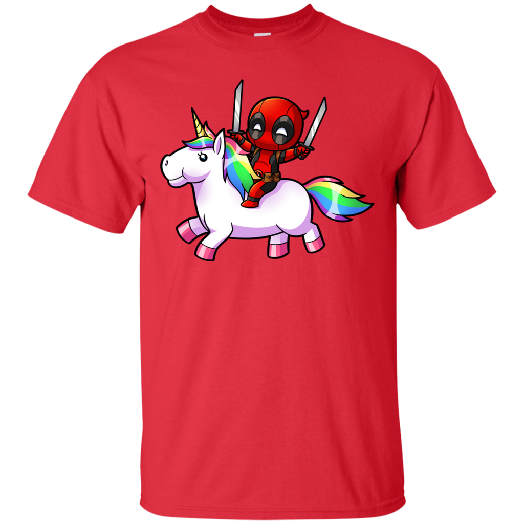 Marvel - Deadpool on a Unicorn deadpool T Shirt & Hoodie