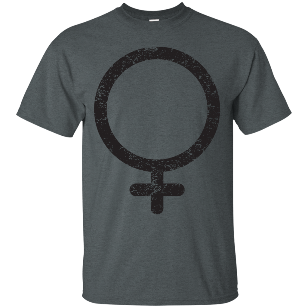 LGBT - Distressed FeministWoman Symbol equal rights T Shirt & Hoodie