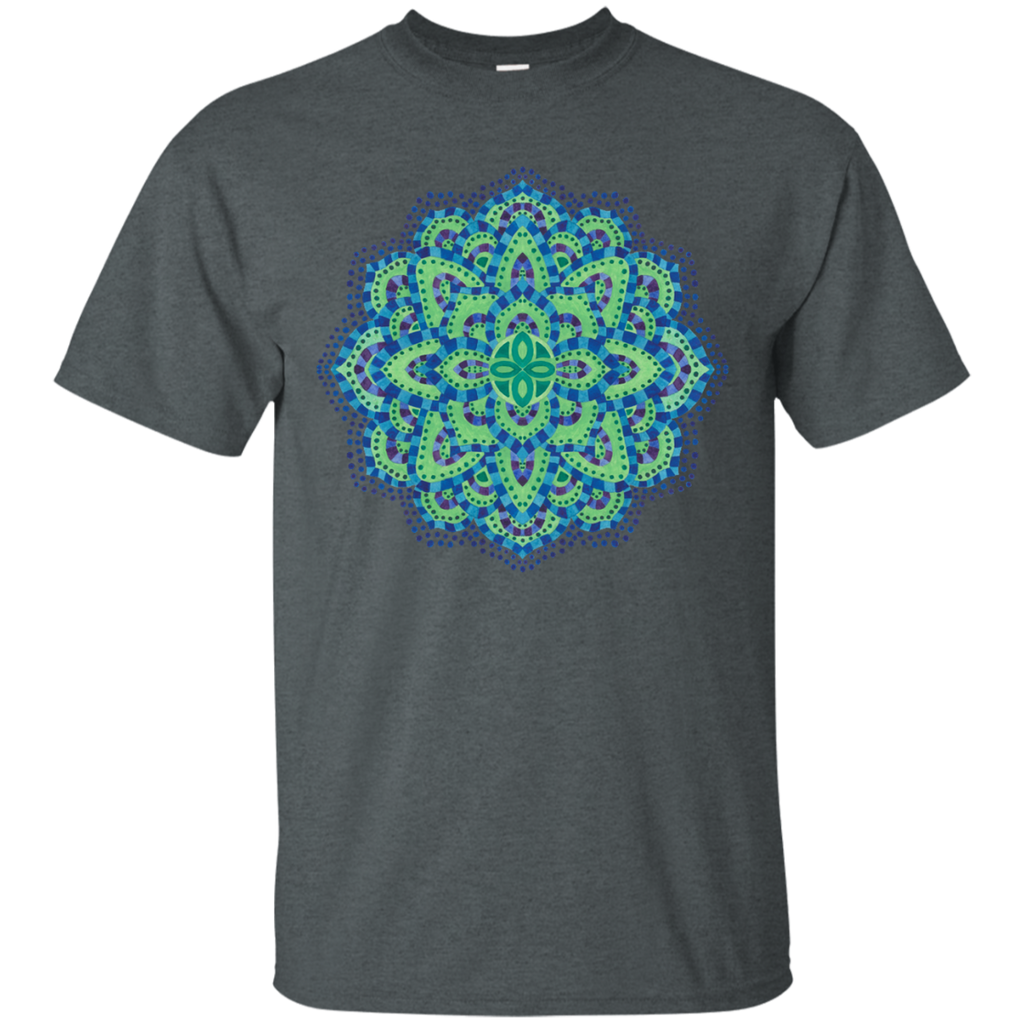 Yoga - The MandalaCool Emerald T Shirt & Hoodie